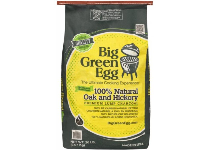 BIG GREEN EGG CHARCOAL 9KG